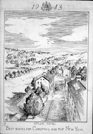 Drawing of the POW camp at Eichstätt